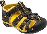 Keen Unisex - Child SEACAMP II CNX I-RAVEN/YELLOW Sandals