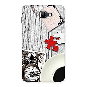 Delighted Vintage Style Multicolor Back Case Cover for Galaxy Note