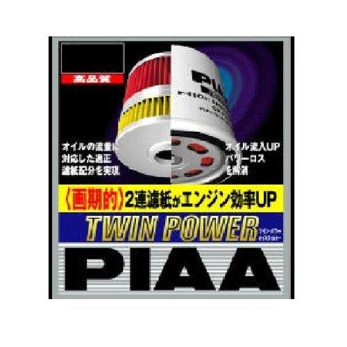 PIAA(ピア) ツインパワー オイルフィルター ミツビシ,マツダ用 Z6