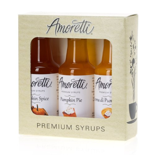 Amoretti Premium Pumpkin Syrups 50ml 3 Pack