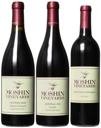 Moshin Vineyards Reds Mixed Pack, 3 X 750Ml