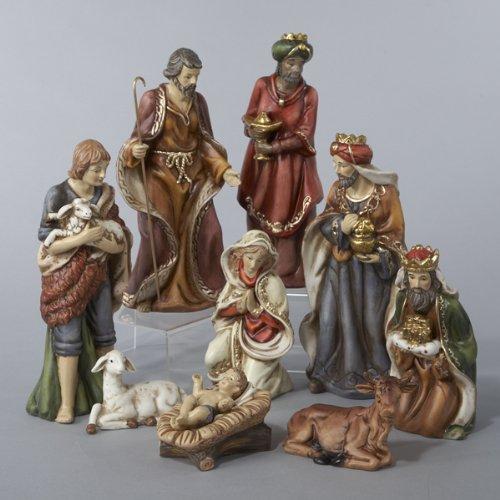 marvelous porcelain nativity set - photo #6