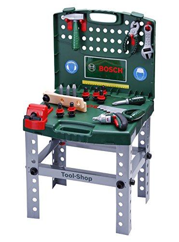 Bosch - Banco de trabajo en maletín (Theo Klein 8686)