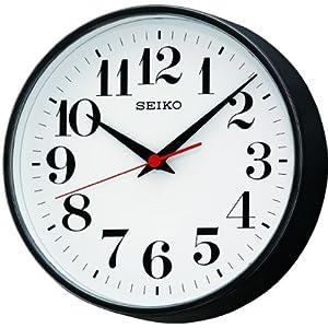 Seiko qxa474k classic bold quartz wall clock amazoncouk for Seiko quartz wall clock