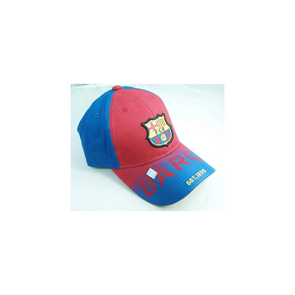 FC BARCELONA OFFICIAL TEAM LOGO CAP / HAT   FCB035