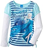 Disney Little Girls'Frozen Powerful Beauty Tee