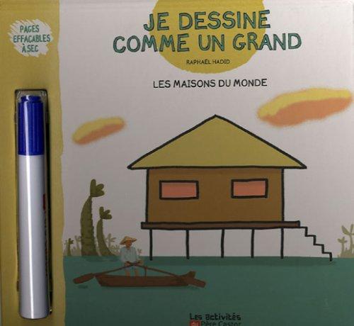 Livre je dessine comme un grand les maisons du monde for Maison du monde livre