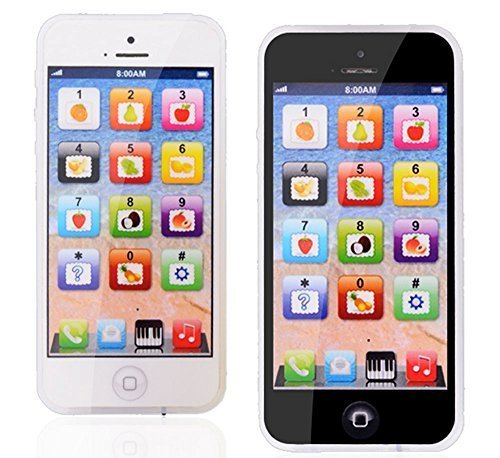 YPhone 1:1 Iphone Toy Mobile Phone English Educational Gift for Kids Children By Preciastore