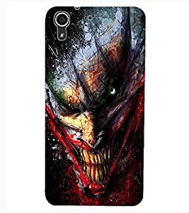 ColourCraft Scary Clown Design Back Case Cover for HTC DESIRE 626G+