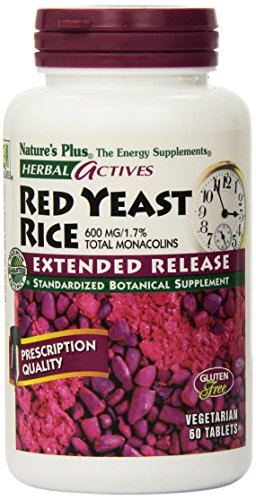 Nature's Plus - Extended Release Red Yeast Rice 600Mg Tabs 60 (7361) (Red Yeast Rice compare prices)