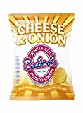 Seabrook Cheese & Onion Crisps 48 Box