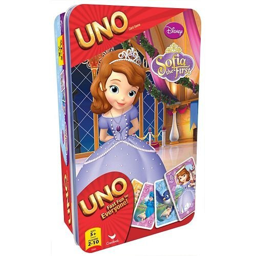 Disney Sofia the First Uno Collector Tin