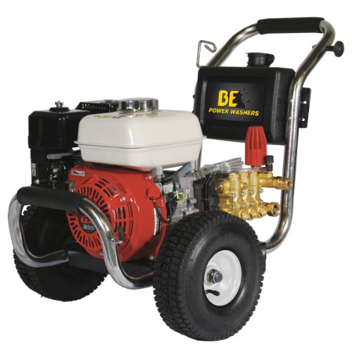 Be Pressure Pe-2565Hwscom Gas Powered Pressure Washer, Gx200, 2500Psi, 3 Gpm front-548596