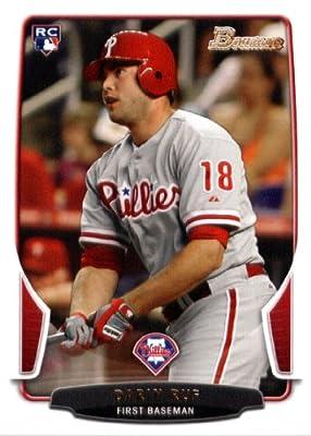 2013 Bowman Baseball Card #172 Darin Ruf RC - Philadelphia Phillies - MLB Trading Card (RC - Rookie Card)