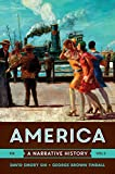 img - for America: A Narrative History (Tenth Edition) (Vol. 2) book / textbook / text book