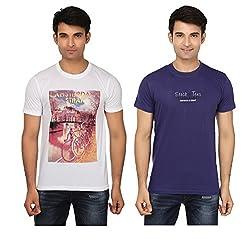 Strak Cotton Men's Casual T-Shirt (STR2053_XL)