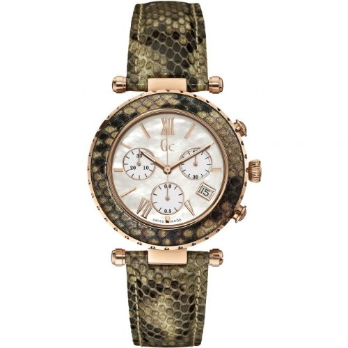 Reloj Guess Collection Gc Diver Chic X43004m1s Mujer Nácar