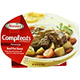 Hormel Compleats Beef Pot Roast with Potatoes & Carrots,  6 - 10-Ounce Units Microwavable Bowls