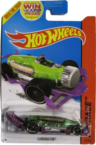 Hot Wheels 2014 Hw Race X-Raycers Green & Purple Carbonator 172/250