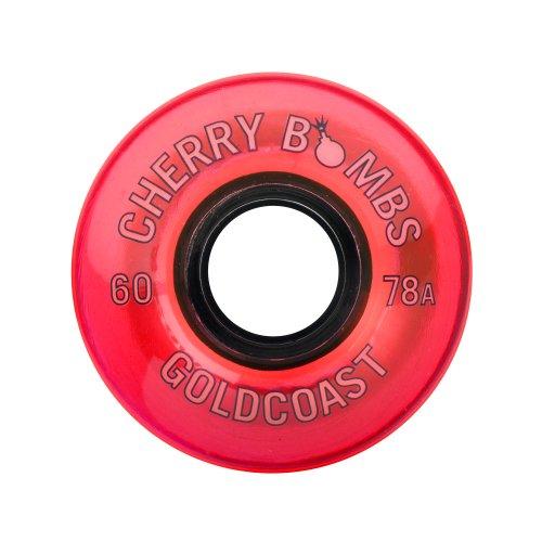 GOLDCOAST LONGBOARD WHEELS 60MM/78A  - CHERRY BOMBS TNT (Onda Board compare prices)