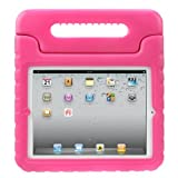 Evecase iKiz Multi Function Child / Shock Proof Kids Cover Case with Stand / Handle for Apple iPad 2