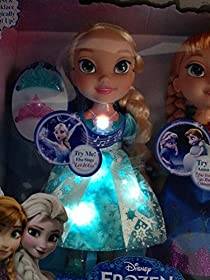 Frozen Snow Glow Anna and Elsa Dolls