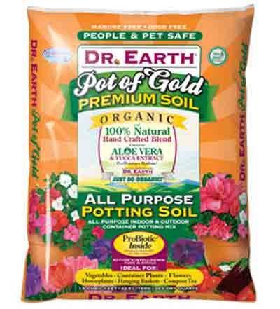 Potting Soil Mix, 1.5 Cu Ft Bag
