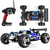 Outtop JJRC Topspeed RC Car , Remote Control Truck, A959 1:18 Electric 45 km / h Hot Hatchbacks 2.4 GHz four-wheel-drive model RC Remote Control Stunt Ride low, Li-Ion battery, 4WD Mad Haste