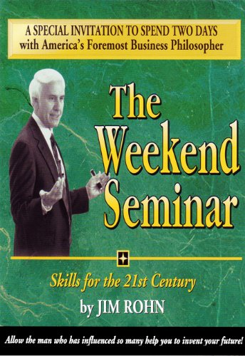 Jim Rohn - The Weekend Seminar 12CDs