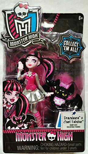 Monster High Draculaura & Count Fabulous Scary Cute Collectible Figure