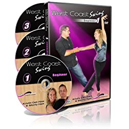 West Coast Swing Beginner 3 DVD Set (Kristin Ham)