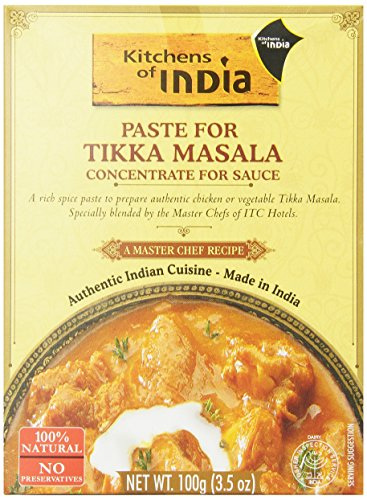 Kitchens of India for Tikka Masala, 3.5-Ounce (Pack of 6) (Butter Chicken Curry compare prices)