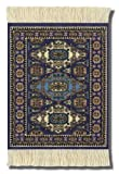 Coaster Rugs GCA-C Asian Collection Mouse Mat - Ardabil Pattern