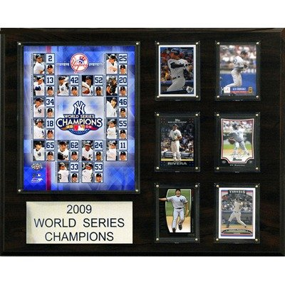MLB New York Yankees 2009 World Series Champions Plaque at Amazon.com