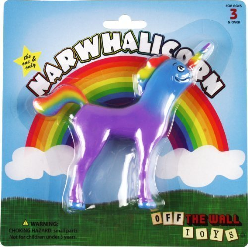"""Narwhalicorn """"Half Unicorn - Half Narwhal"""" (Majestic and Bendable) by Off the Wall Toys"""