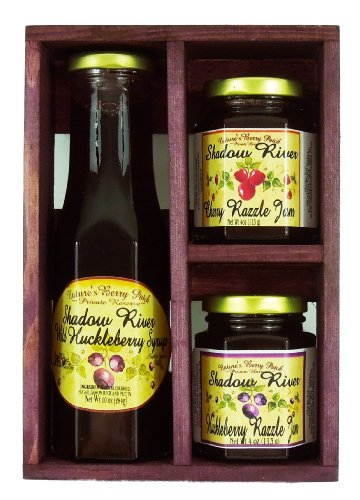 Shadow River Wild Huckleberry Gourmet Boxed Gift