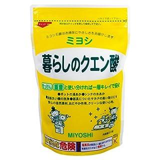 クエン酸は100円ショップでおすすめの掃除道具