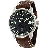 Stuhrling Original Men's 129A.3315K1 Tuskegee Flier Automatic Date Brown Watch