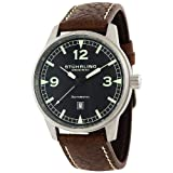 Stuhrling Original Men's  129A.33152 Tuskegee Flier Sportsman's Collection Automatic Black Dial Watchby Stuhrling Original