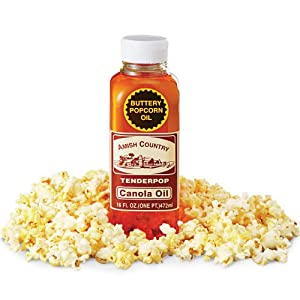 how to make popcorn popping oil
