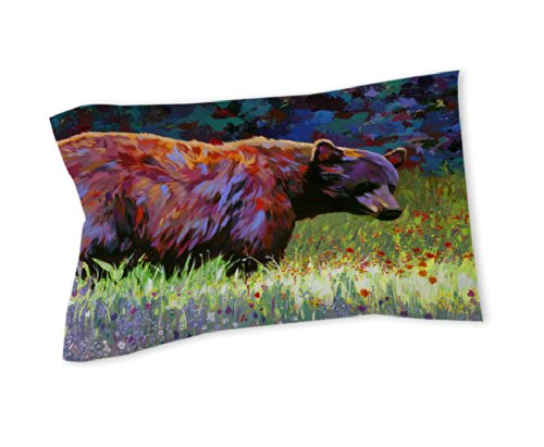 Thumbprintz Pillow Sham, King, Wildflowers