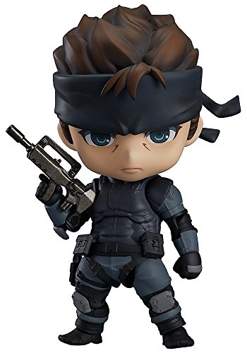Metal Gear Solid Nendoroid Solid Snake ( non-scale ABS u0026 ATBC-PVC painted action figure )