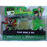 Ben 10 Ultimate Alien Mini Action Figure - Young Ben/Four Arms