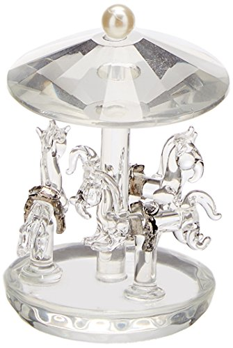 Fashioncraft Choice Crystal Collection Carousel Favors