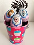 DISNEY FROZEN chocolate egg gift basket: - ANY OCCASION-Imported from EUROPE- NOW in USA