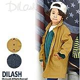 (ディラッシュ) DILASHステンカラーロングコート/秋 ベビー キッズ 男の子 130 ネイビー
