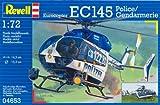 Revell Modellbausatz 04653 - EC145 Polizei/Gendarmerie im Maßstab 1:72