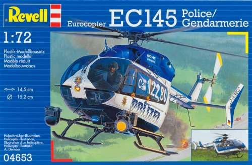 Revell Modellbausatz 04653 - EC145 Polizei/Gendarmerie