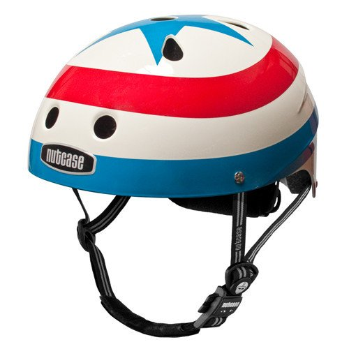Nutcase Youth Bike Helmet Stars /& Stripes American Freedom Girls Boys Bicycle