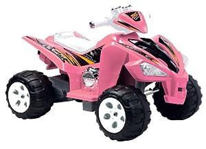 Amazon.com: Happy Rider/Fun Wheels 6-volt Battery Operated Hot ATV